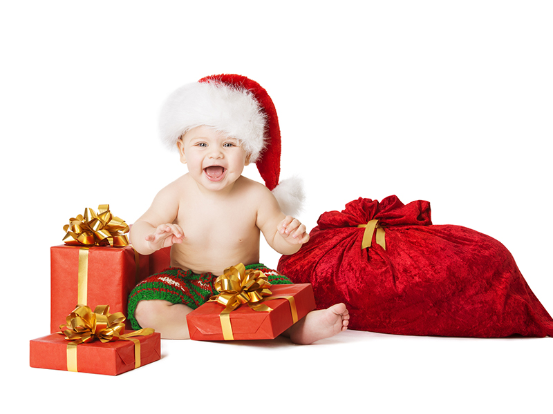 The benefits of Christmas Babies!